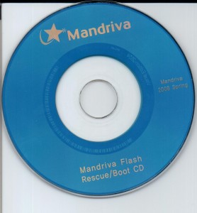 Mandriva Flash Rescue/Boot CD