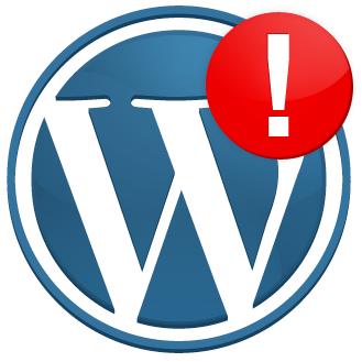 Ошибка при обновлении WordPress