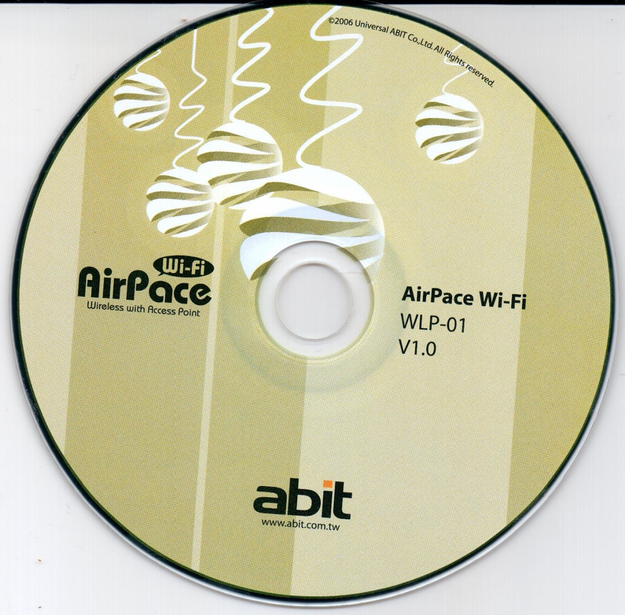 Образ диска Abit AirPace Wi-Fi