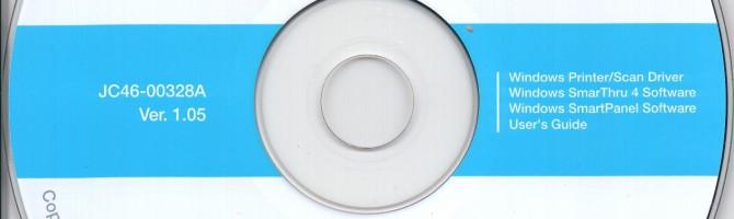 Образ диска Samsung SCX-4200 Series Vista