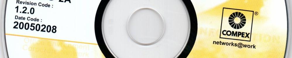 Образ диска Compex WLU54G