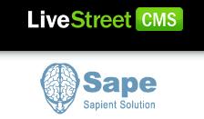 Добавляем в sape сайт на Livestreet 0.5.1