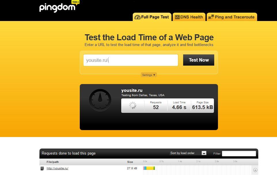 Как определить скорость загрузки сайта?